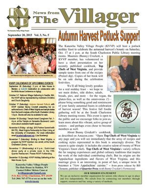 2015 09 Kvvp Newsletter (September Issue)