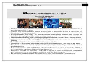 Pelicula completas porno de familia 2014 youtube Calameo 206 40 Peliculas Para Debatir El Rol De La Familia Y De La Escuela