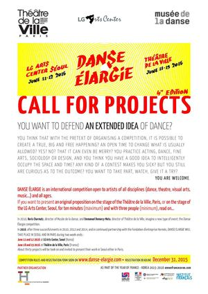 CALL FOR PROJECTS DE 15 16