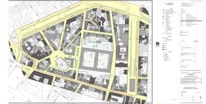 80-80 Béguinage. Plan de la situation existante de fait-Gabarits
