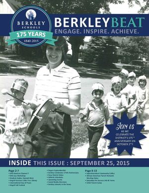 Berkley Beat: 9/25/15
