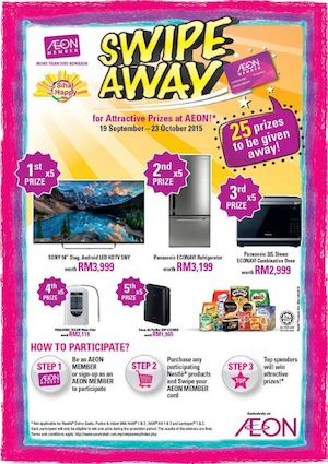 Swipe Away For Attractive Prizes At Aeon From September 19 To October 23 2015 72864