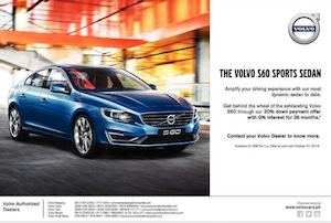Calaméo Get Volvo S60 Through Our 20 Down Payment Offer Till October 31 2015 72945