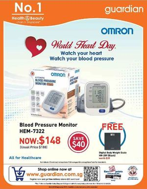 Save 40 On Blood Pressure Monitor At Guardian Pharmacy Valid Till September 30 2015 72953