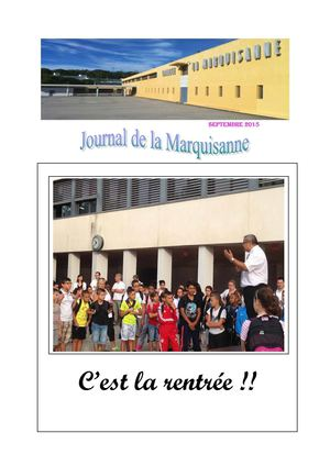 Journal Septembre