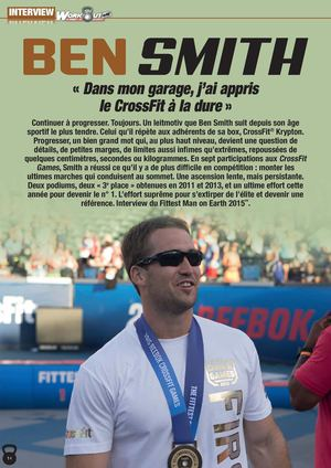 Interview Ben Smith, vainqueur des CrossFit Games 2015