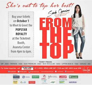 Buy Your Tickets To Meet Greet The Popstar Royalty At Ticketnet On October 1 201572988 72988