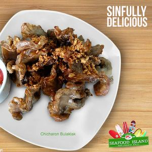 Sinfully Delicious Chicharon Bulaklak Available At Blackbeards Seafood Island73008 73008