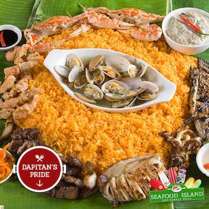 Try Our Dapitans Pride Available At Blackbeards Seafood Island73015 73015