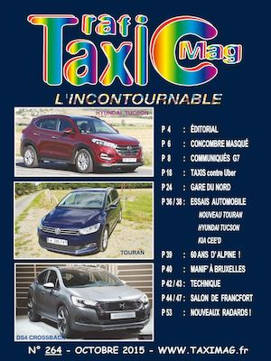 Taximag Octobre 2015