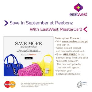 Save In September At Reebonz With Eastwest Card Till September 30 2015 73045