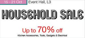Household Sale Up To 70 Off At Isetan Serangoon Central From October 15 21 2015 73475