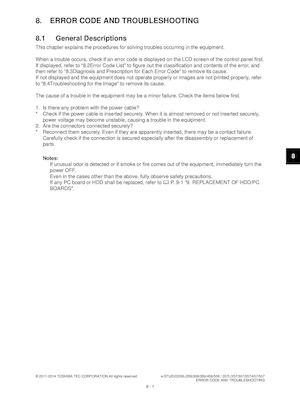 Calaméo - service manual toshiba 206 506 306