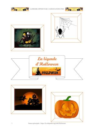 Lapbook Halloween