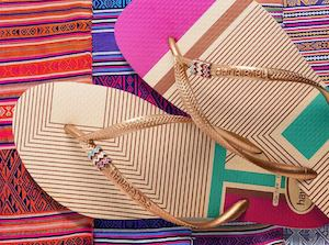 Take Some Tribal Print With You And Carry On With These Flip Flops At Havaianas While Stocks Last 73954