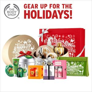 Gear Up For The Holidays At The Body Shop Offer Valid Till November 4 201573964 73964