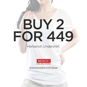 Get Two Bench Body Basic Tees For Only Php499 At Bench Online Store While Stocks Last73977 73977