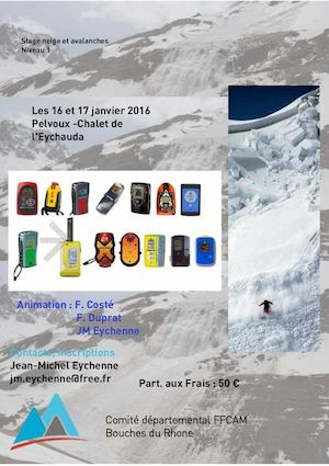 Flyer Uv1 Neige Avalanches 2016