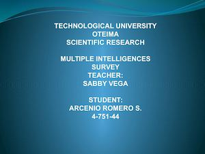 Ppt Multiple Intelligences