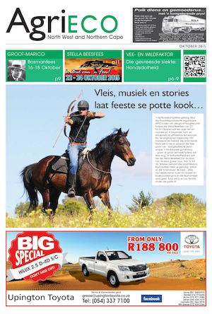 North West/Northen Cape Agri Eco October 2015