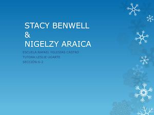 Stacy Benwell