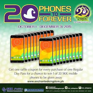 Get A Chance To Win A New Phone At Enchanted Kingdom Promo Runs Till December 31 2015 74064