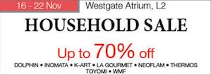 Household Sale Up To 70 Off At Isetan Jurong East From November 16 22 201574287 74287