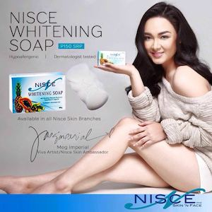 Get Nisce Whitening Soap For P150 At Nisce Skin N Face While Stocks Last74313 74313