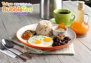Brighten Your Mornings With Our Famous Old Manila Tapsilog At Tokyo Bubble Tea While Stocks Last74315 74315