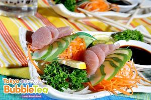 Be Happy With Our Sashimi At Tokyo Bubble Tea While Stocks Last74333 74333