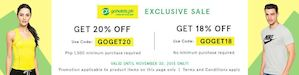 Go Hotels X Zalora Exclusive Sale Up To 20 Off Valid Till November 30 2015 74346