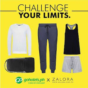 Challenge Your Limits With Go Hotels X Zalora Exclusive Sale Valid Till November 30 201574345 74345