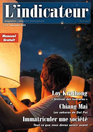 L'indicateur Pattaya n°24 novembre 2015