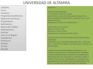 Universidad De Altamira