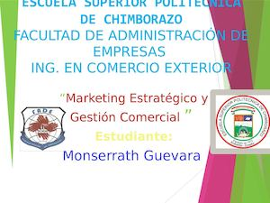 Materia de marketing