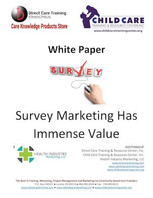 White Paper Survey Marketing 2015