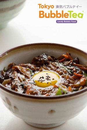 Tender Beef On A Bed Of Glass Noodles And Rice Available At Tokyo Bubble Tea While Stocks Last 74348