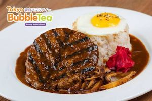 Try Our Hamburg Steak With Demi Glaced Sauce At Tokyo Bubble Tea While Stocks Last74365 74365