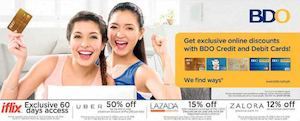 Get Exclusive Online Discounts With Bdo Credit And Debit Cards Till March 31 2016 74378
