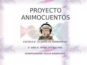 Proyecto Animocuentos