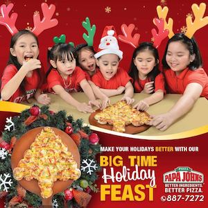 Share A Holiday Feast With Your Loved Ones Today At Papa Johns Pizza While Stocks Last 74380