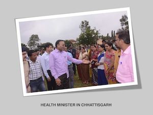 Health Minister In Chhattisgarh
