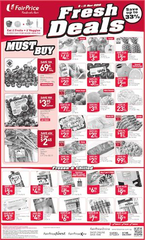 Fresh Deals At Fairprice Offers Valid From November 5 11 201574389 74389