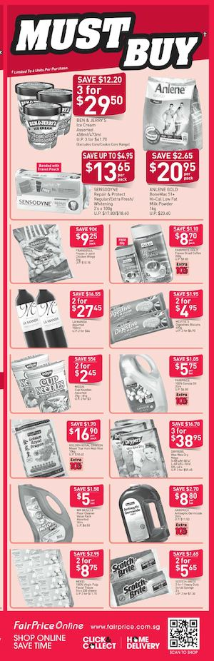 Must Buy At Fairprice Offers Valid From November 5 11 2015 74388