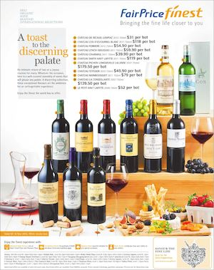 A Toast To The Discerning Palate At Fairprice Finest Offers Valid From November 5 18 201574395 74395