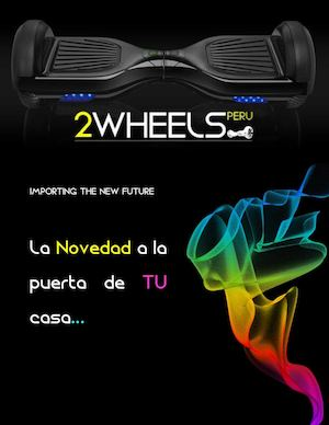 Catalogo productos 2 Wheels Perú