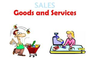 Sales Goods And Services