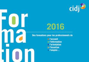 Catalogue Formation Cidj 2016