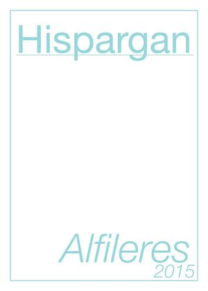 Catalogo Alfileres2015 HISPARGAN