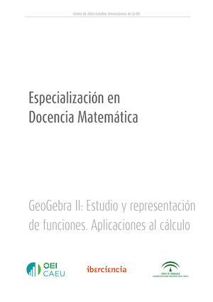 Calaméo - GeoGebra Analisis De Funciones